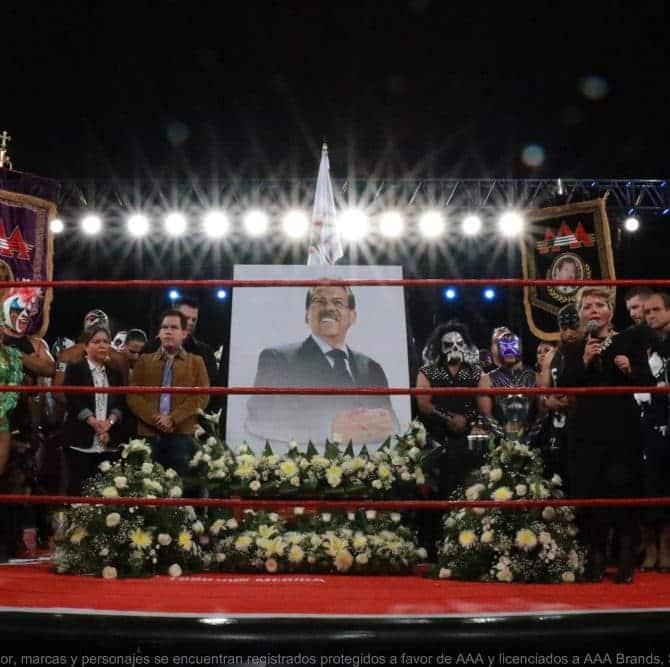 AAA: Resultados en S.L.P. 12/04/2017 - Homenaje al Lic. Joaquín Roldán; Taya humilla a Ayako; Psycho Clown cae ante Wagner por las intervenciones 4