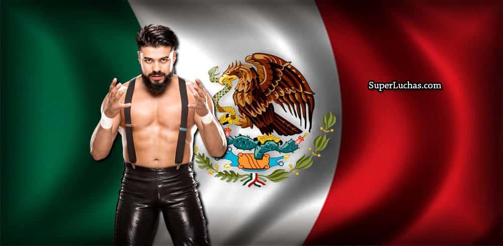 """Andrade """"Cien"""" Almas, luchador mexicano en WWE / SÚPER LUCHAS - SuperLuchas.com"""