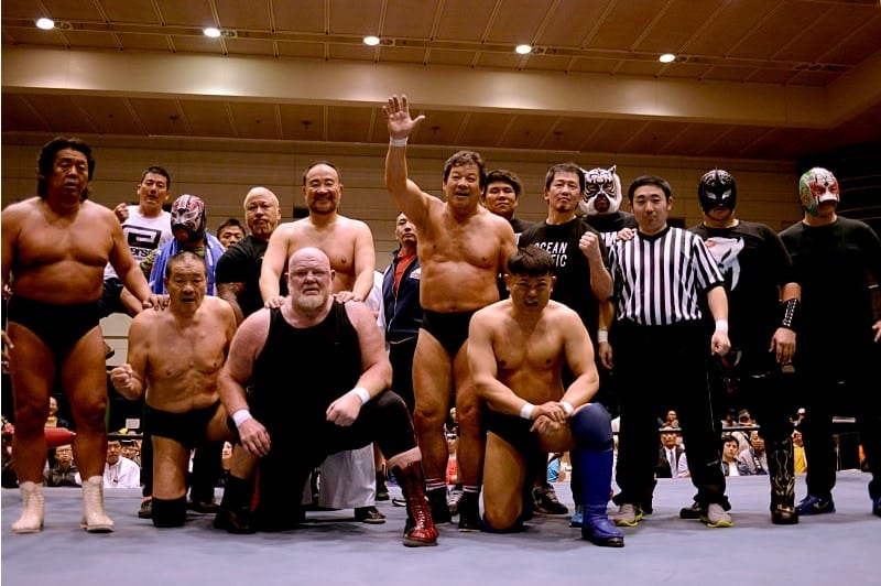 "Dradition: Resultados ""Fujinami 45th Anniversary Debut in Osaka"" 23/04/2017 1"