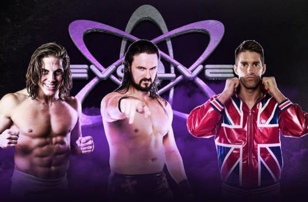 Resultados e imágenes de EVOLVE 83: Última lucha de Drew Galloway antes de ir a WWE 5