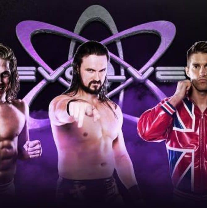 Resultados e imágenes de EVOLVE 83: Última lucha de Drew Galloway antes de ir a WWE 7