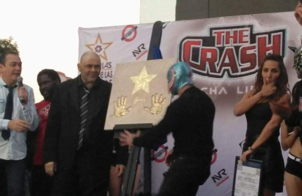 Conferencia de prensa The Crash: previo a la gran función en el Juan de la Barrera 6