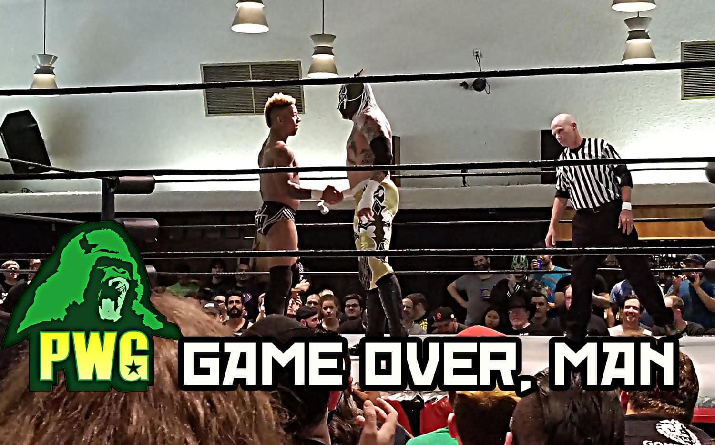 Resultados e imágenes de PWG Game Over, Man - Rey Fénix y Lio Rush volaron muy alto 1