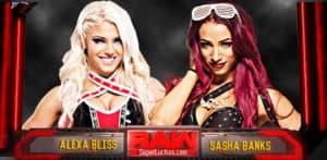 Así fueron los regresos al ring de Alexa Bliss y Sasha Banks 5