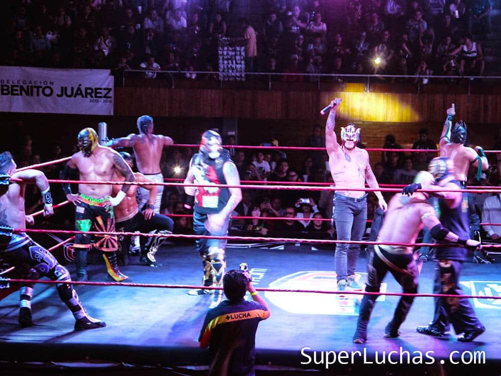 The Crash debutó en la Ciudad de México con un cartel plagado de estrellas 4