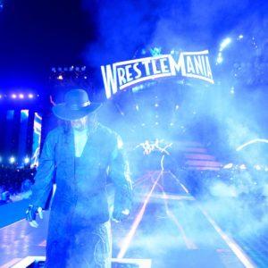 The Undertaker haciendo su última entrada al ring en WWE WrestleMania 33 (Camping World Stadium - Orlando, Florida - 02/04/2017) / WWE©