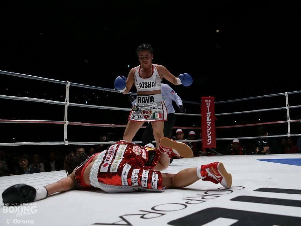 Monserrat Alarcón es la nueva campeona mosca de la OMB 3