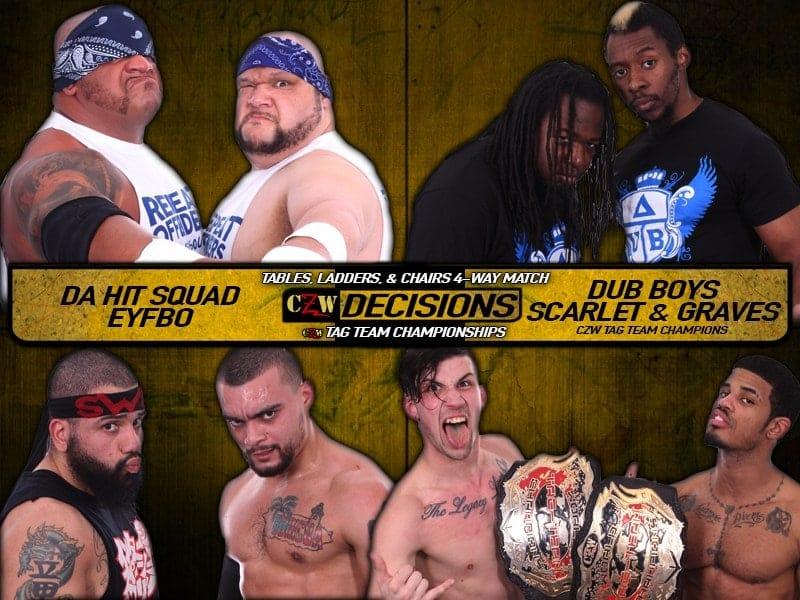 CZW Decisions 2017: Esta noche, Joe Gacy defiende el título ante Lio Rush 2