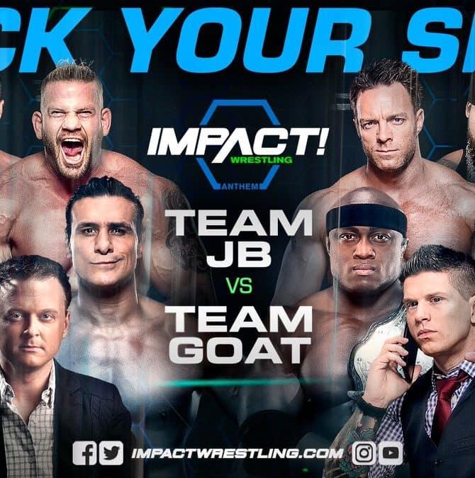 Previa Impact Wrestling (13-abril-2017) Team JB vs. Team Goat 4