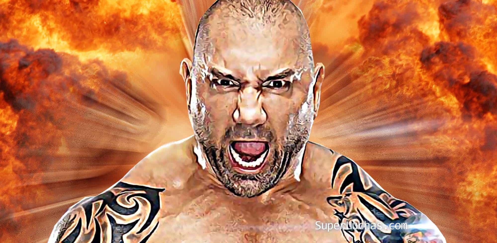 Batista alaba el trasero de Bayley e incendia Instagram