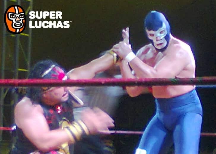 Resultados de FULL en Toluca: Alberto el Patrón, Tinieblas Jr. Cibernético vs. Jack Swagger y los UK Holligans 7