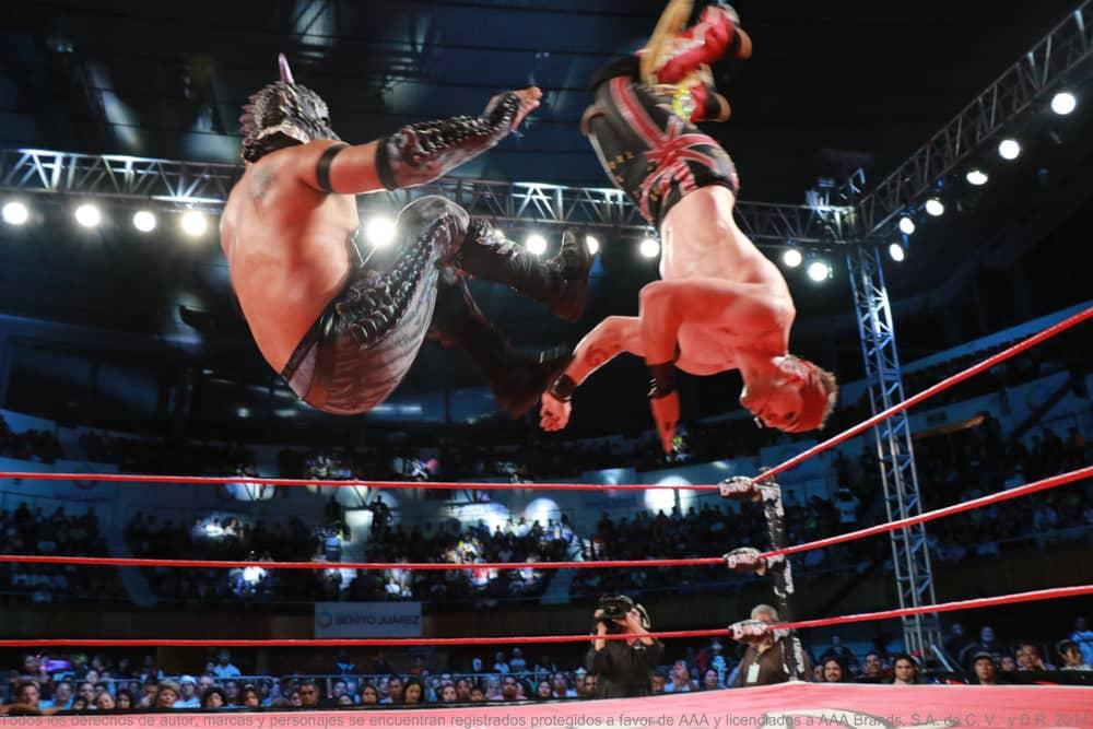 AAA: Resultados CDMX 26/05/2017 Pagano y Mesías, monarcas en parejas; cayó Dinastía 7