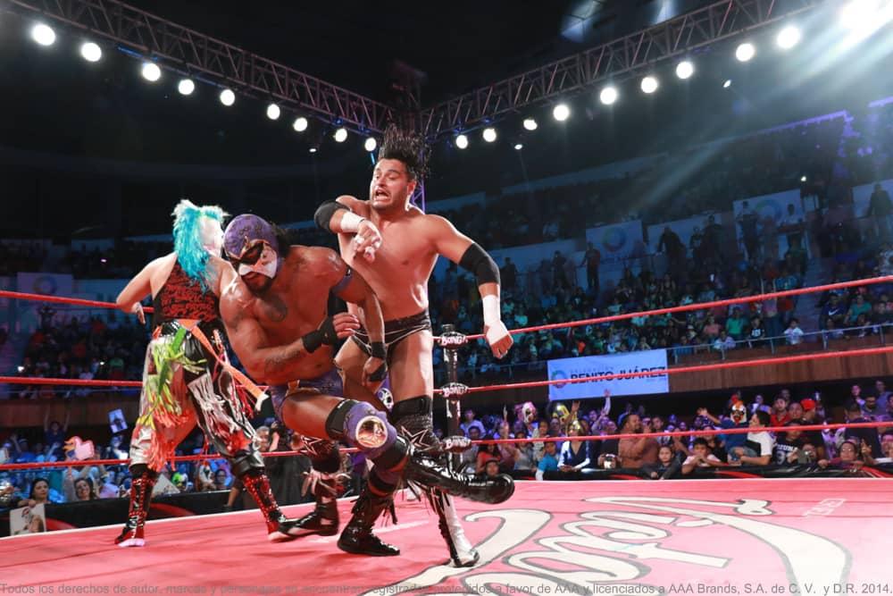 AAA: Resultados CDMX 26/05/2017 Pagano y Mesías, monarcas en parejas; cayó Dinastía 1