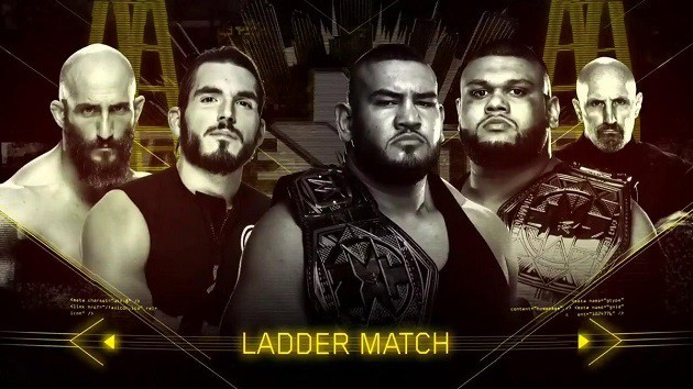 NXT TakeOver: Chicago (Coverage and Results) - Bobby Roode vs. Hideo Itami  - Authors of Pain vs. #DIY in ladder fight | Superfights