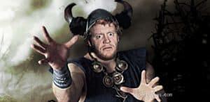 The Undertaker originalmente iba a tener un personaje vikingo 1