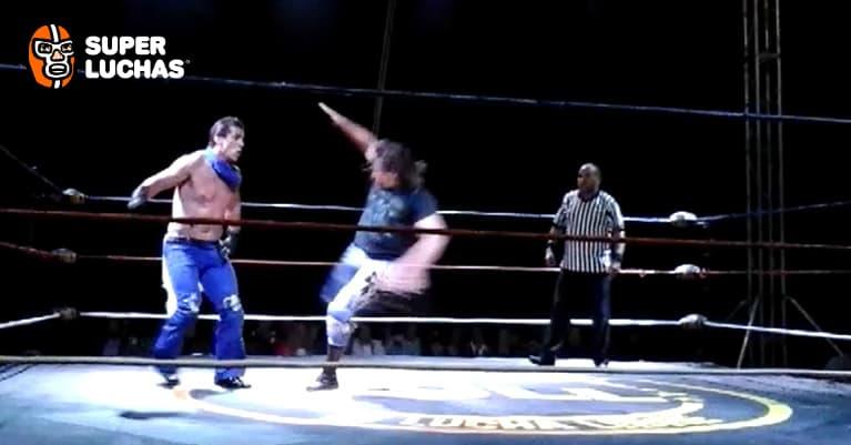 Resultados de FULL en Toluca: Alberto el Patrón, Tinieblas Jr. Cibernético vs. Jack Swagger y los UK Holligans 5