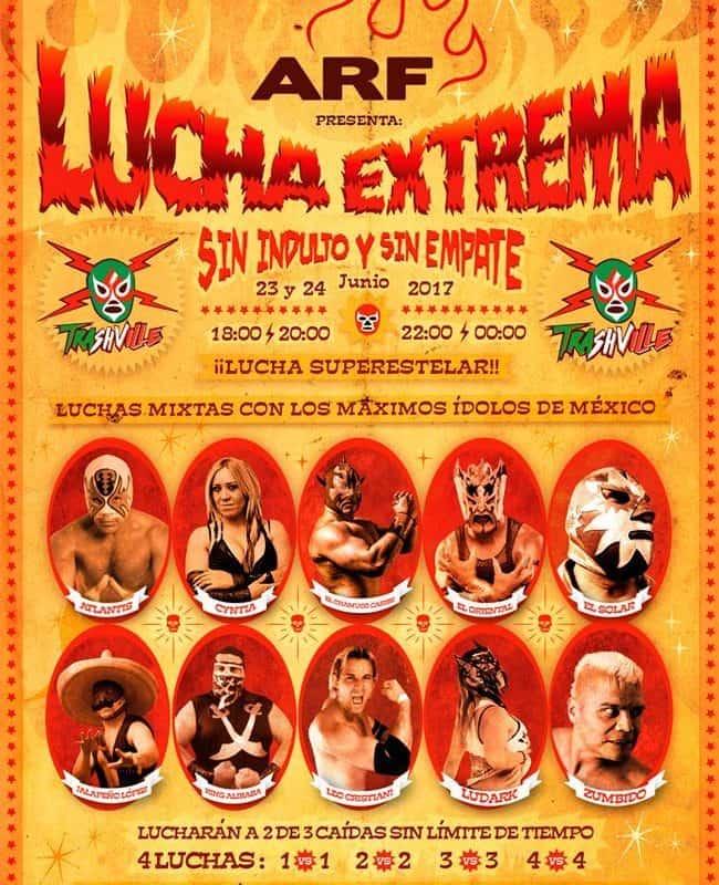 Lucha Libre Mexicana en España-en el AZKENA ROCK FESTIVAL 5