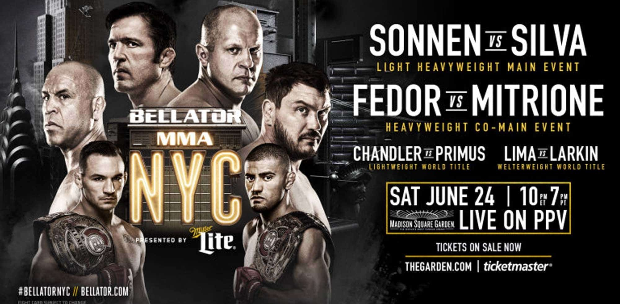 Bellator 180: Sonnen vs. Silva - Conteo Regresivo 3