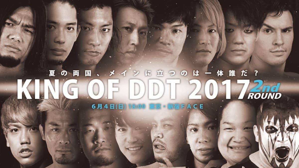 """DDT: Resultados """"King of DDT 2nd Round"""" - 04/06/2017 Definidos los semifinalistas 1"""