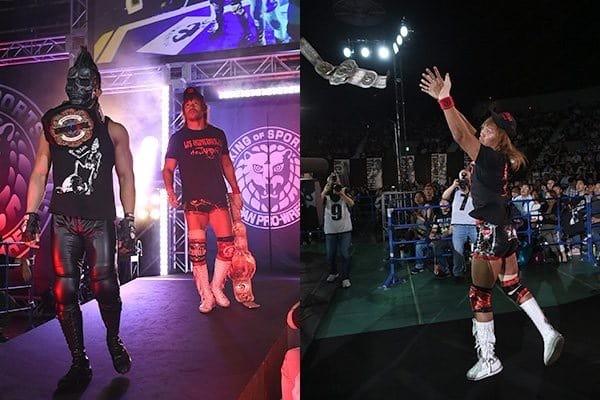Tetsuya Naito lanza una amenaza: destruirá el nuevo título de NJPW como lo hizo con el Intercontinental IWGP 3