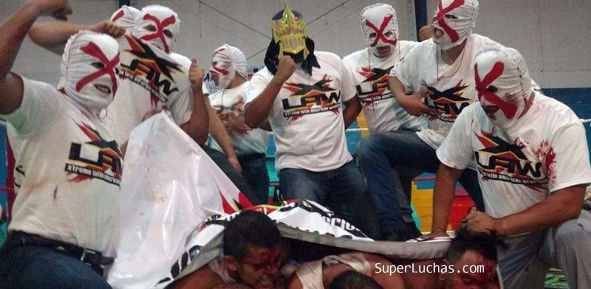 "Nightmare: ""The best extreme fighters in Mexico were made in X-LAW"" 8"