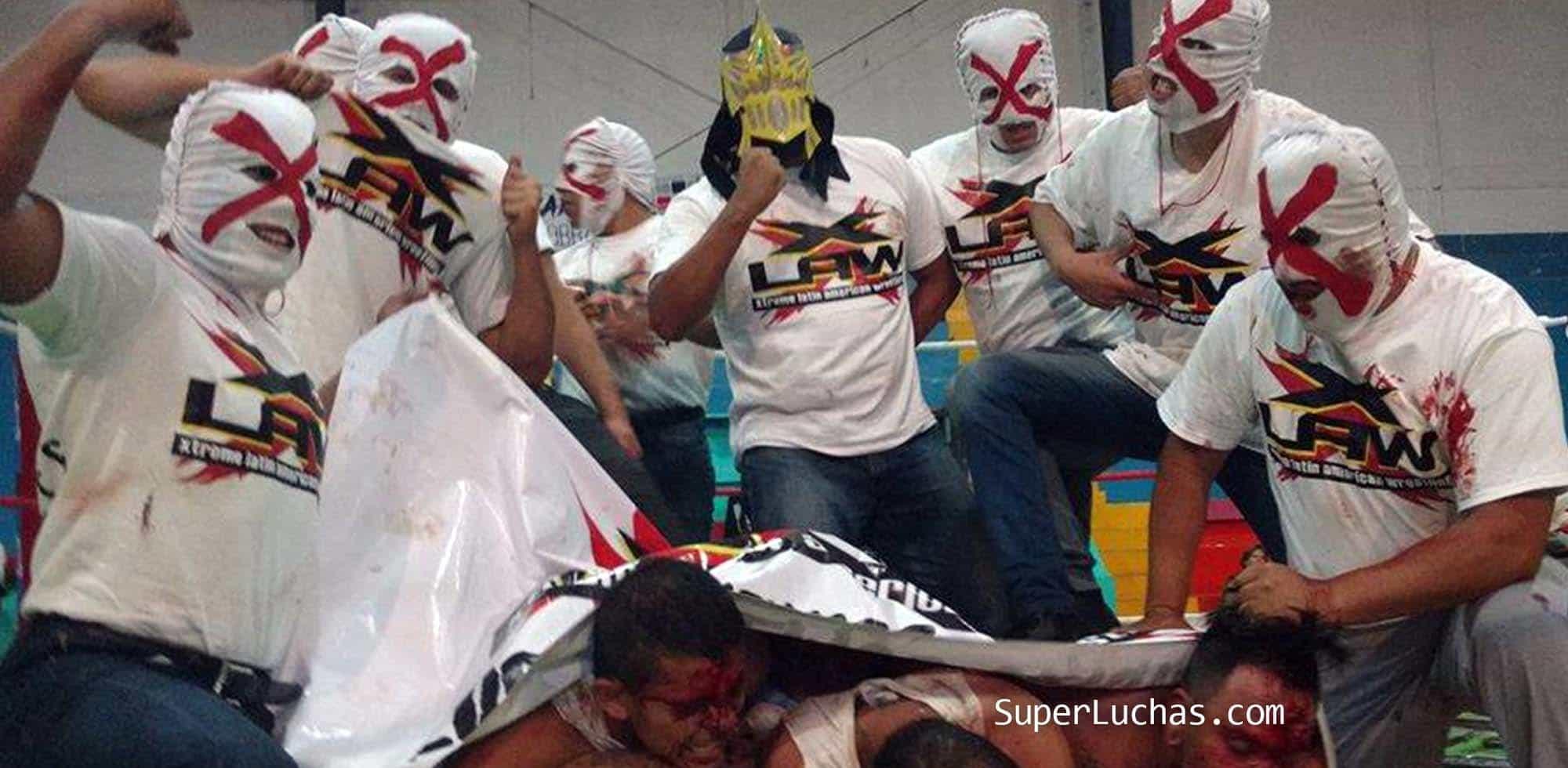 """Pesadilla: """"Los mejores luchadores extremos en México fuimos hechos en X-LAW"""" 1"""