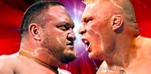 Tres situaciones que pueden ocurrir en Samoa Joe vs. Brock Lesnar 4