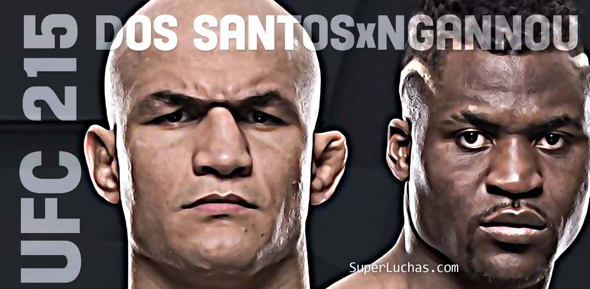 UFC 215: Dos Santos vs Ngannou