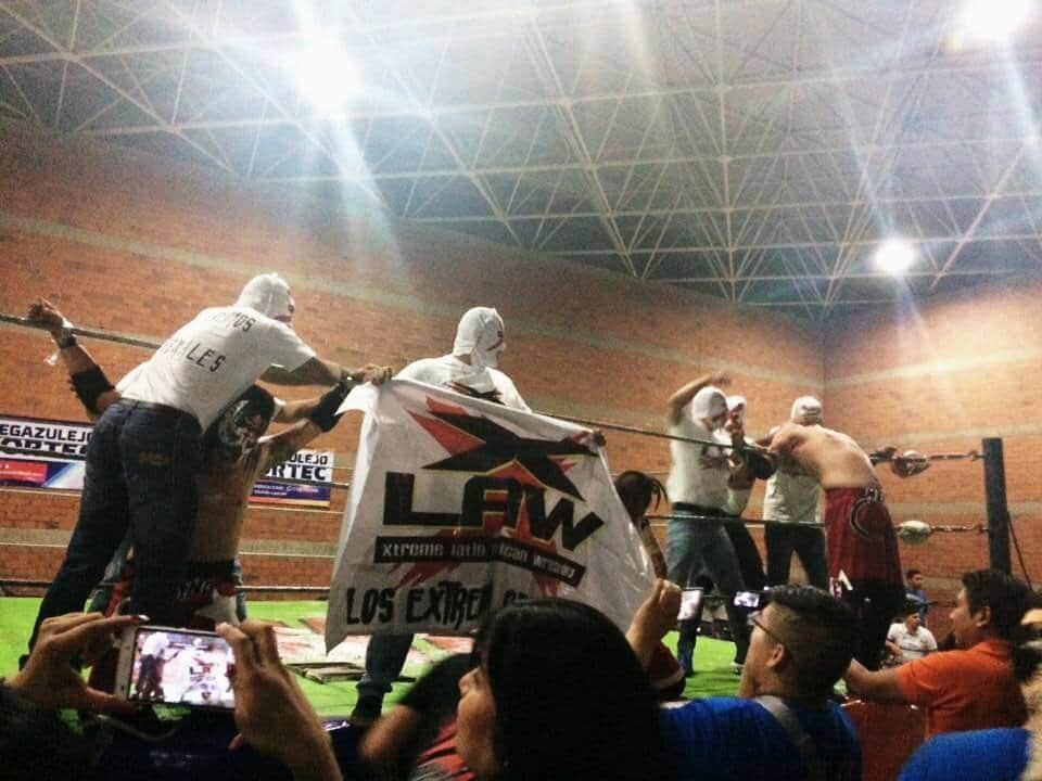 """Pesadilla: """"Los mejores luchadores extremos en México fuimos hechos en X-LAW"""" 3"""