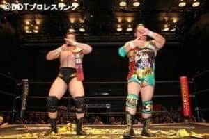 """DDT: Resultados """"Road to Ryogoku 2017 ~ Dramatic Dream Tan ~"""" 11/06/2017 Shigehiro Irie y Kazusada Higuchi retienen el título de parejas 40"""