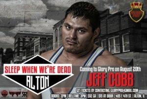 Jeff Cobb y Chuck Taylor hacen su debut en Glory Pro: Sleep When We're Dead 2