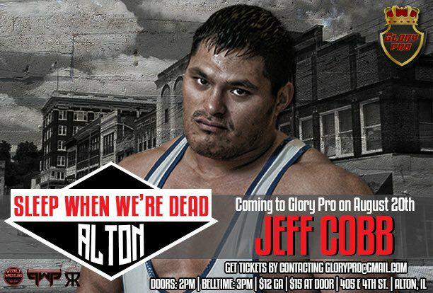 Jeff Cobb y Chuck Taylor hacen su debut en Glory Pro: Sleep When We're Dead 193