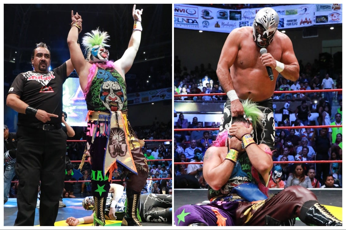 AAA: Resultados Aguascalientes, Ags. 27/07/2017 Sufrido triunfo de Psycho Clown; Lady Shani retadora 37