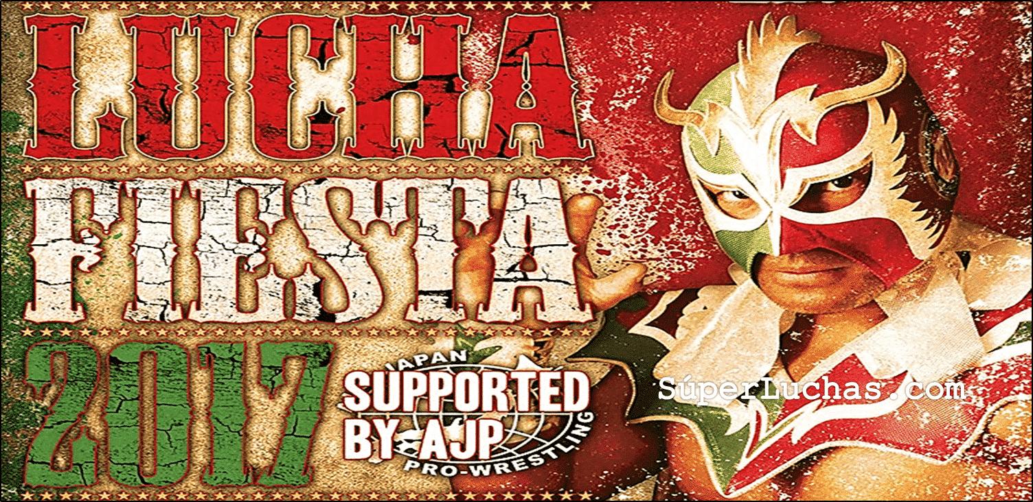 """AJPW/ Toryumon: Cartel completo para """"Lucha Fiesta 2017"""" Último Dragón celebra 30 años como luchador activo 1"""