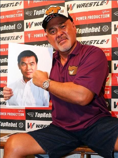 W-1: Un ministro del gobierno japonés luchará en la función de MASTERS 4