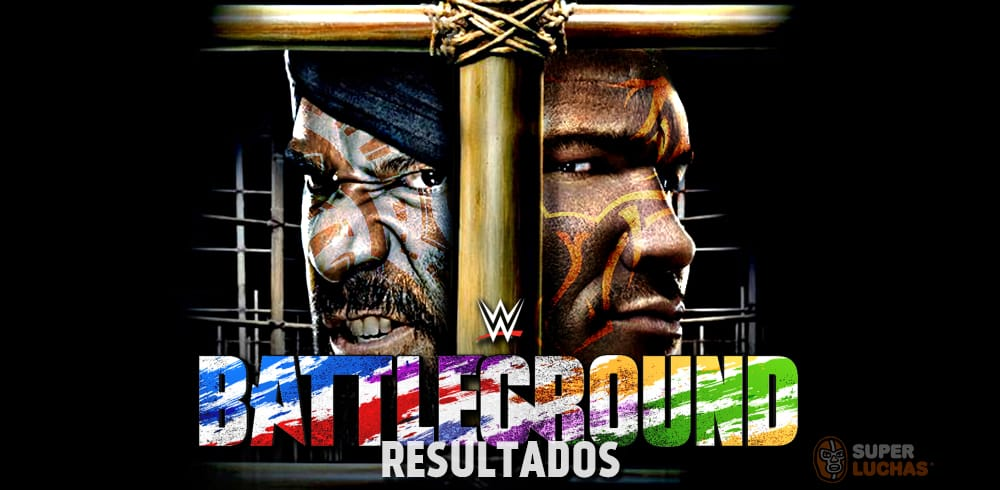 Resultados WWE Battleground 2017