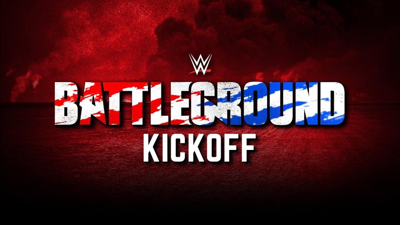 WWE Battleground 2017 - Kickoff