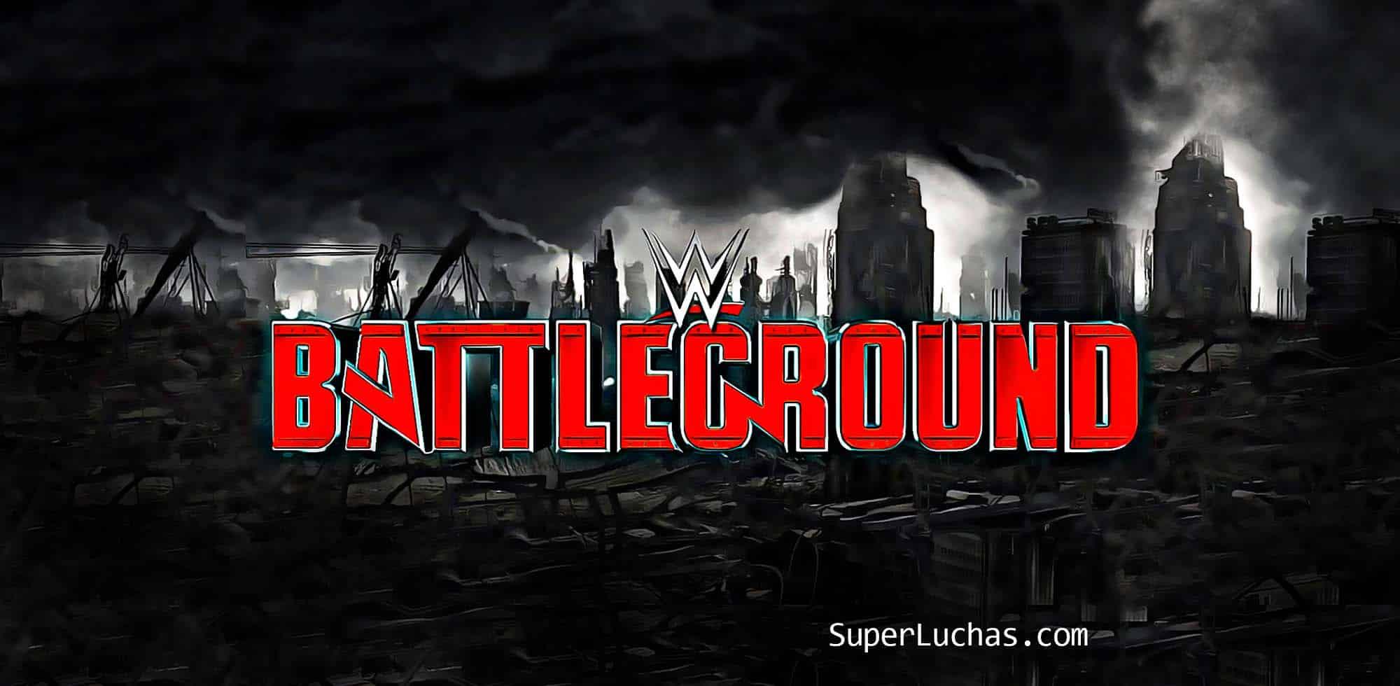 Cartel final de WWE Battleground 2017 - Revancha y kickoff añadidos 36