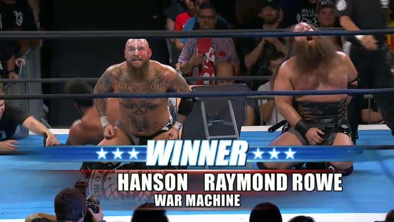 War Machine venció a G.O.D y obtuvo el Campeonato en Parejas IWGP 1