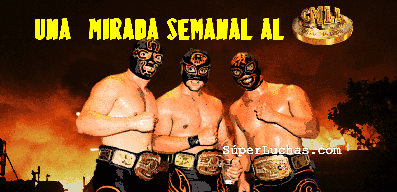 CMLL: Una mirada semanal al CMLL (del 20 al 26 de julio de 2017) La Nueva Sangre Dinamita y su semana de ensueño 1