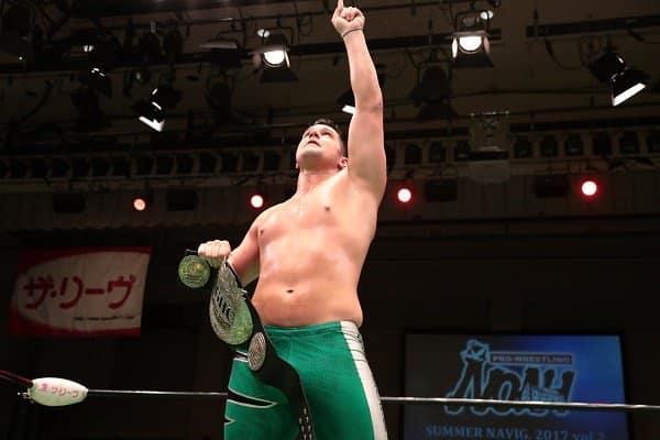 La importancia de la conquista de Eddie Edwards en la lucha libre japonesa 1