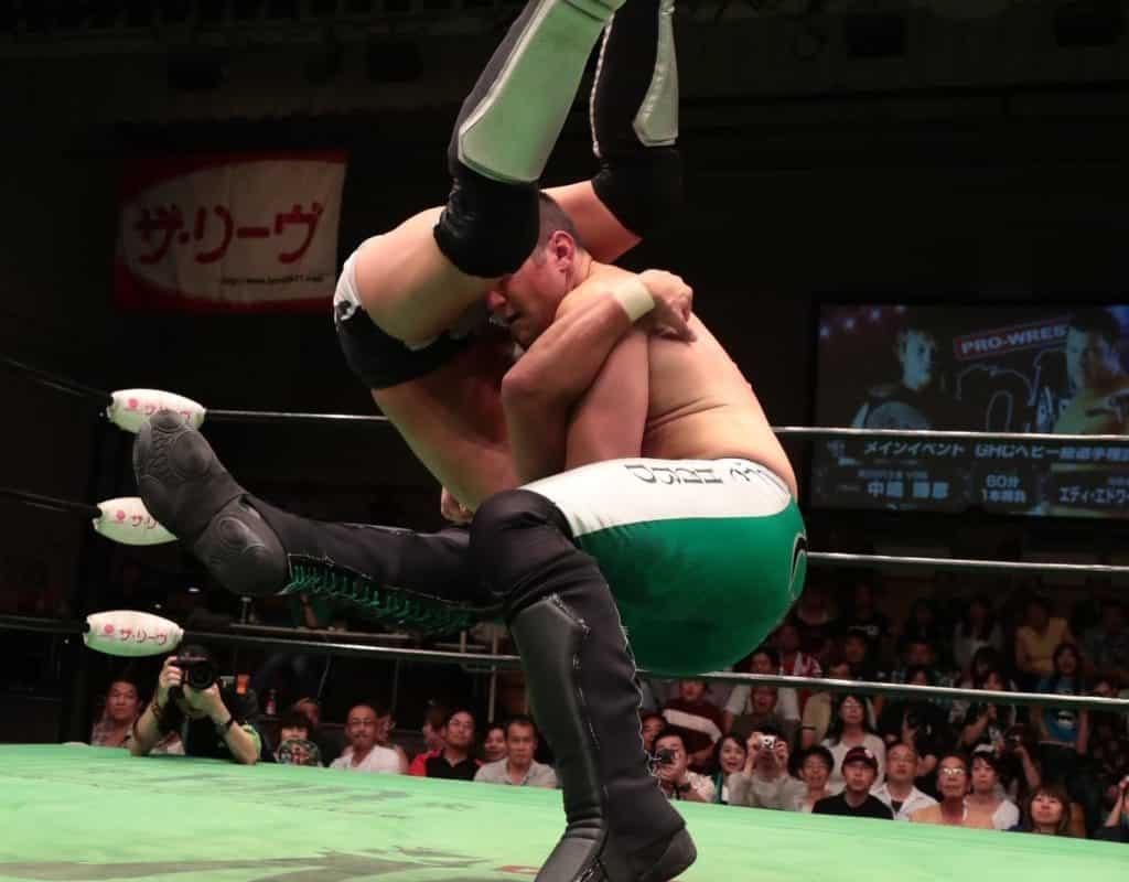 La importancia de la conquista de Eddie Edwards en la lucha libre japonesa 2