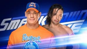 John Cena vs. Shinsuke Nakamura (WWE SmackDown Live - 01/08/2017) / WWE.com