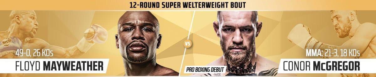 Cobertura y resultados: Floyd Mayweather vs. Conor McGregor 8