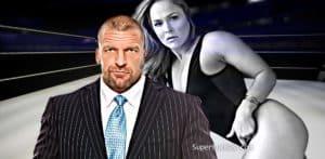 Triple H Ronda Rousey