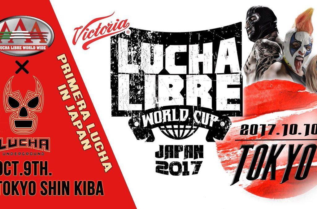 AAA: Serán 8 los equipos que compitan en Lucha World Cup 2017 1