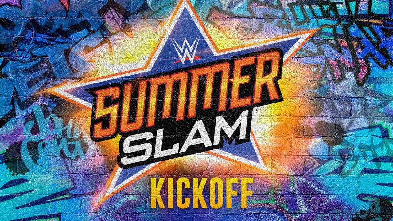 WWE SummerSlam 2017 - Kickoff