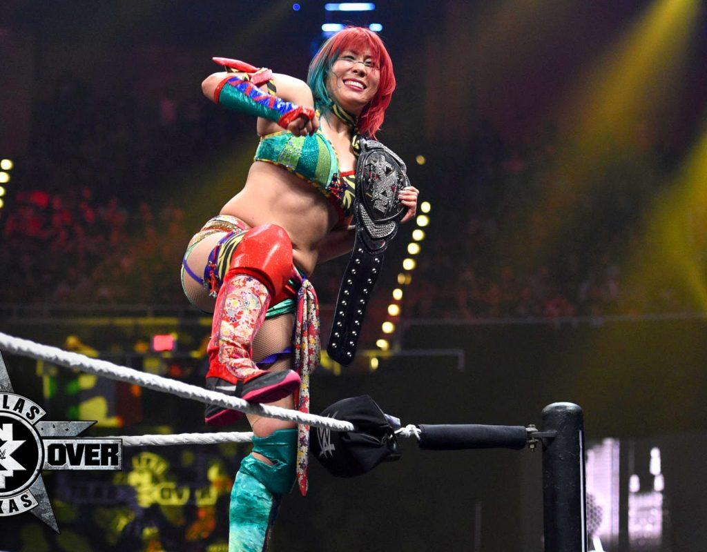Ya hay fecha para el debut de Asuka en el roster principal 3