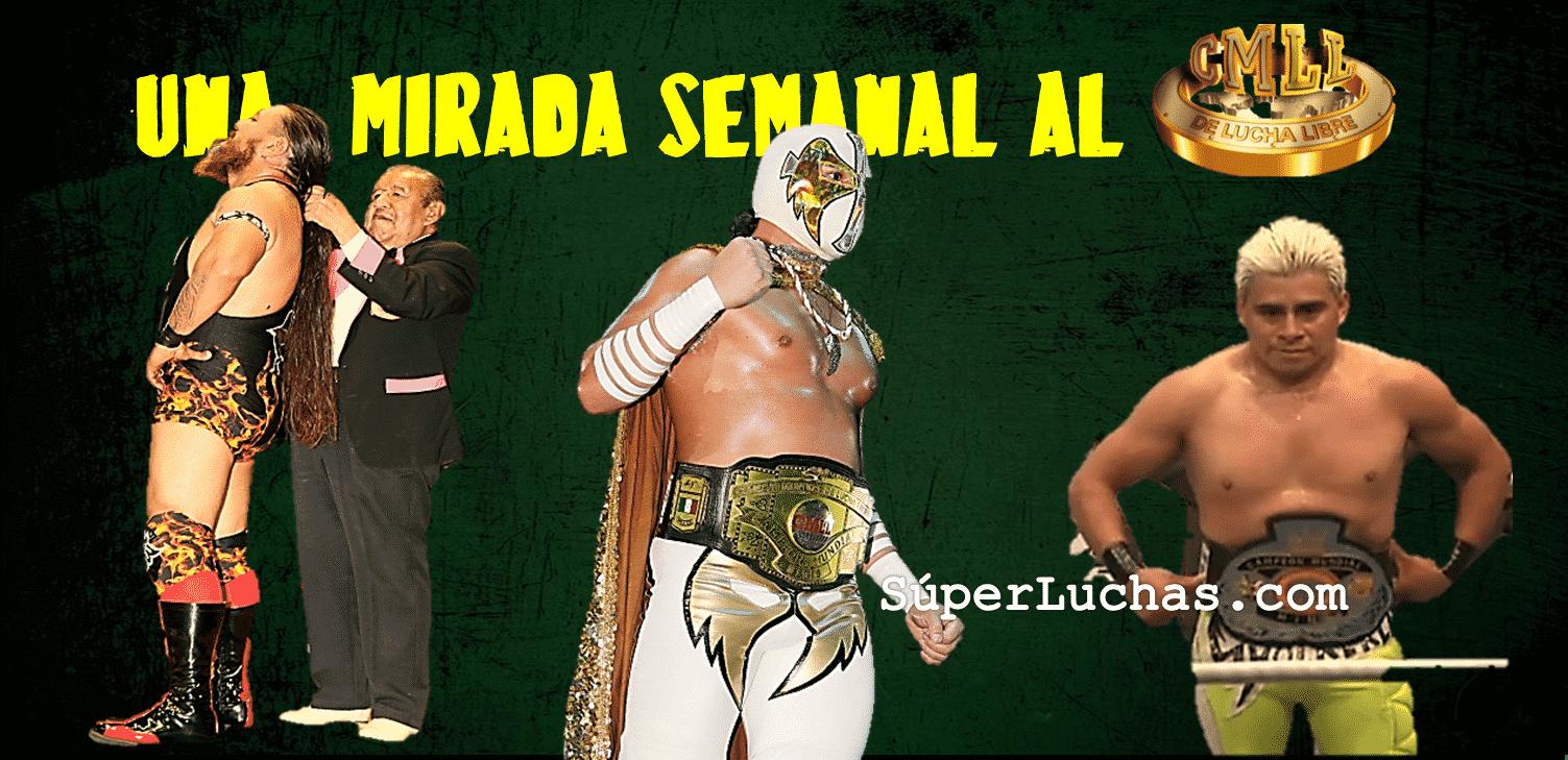 CMLL: Una mirada semanal al CMLL (del 27 de julio al 2 de agosto de 2017) 1