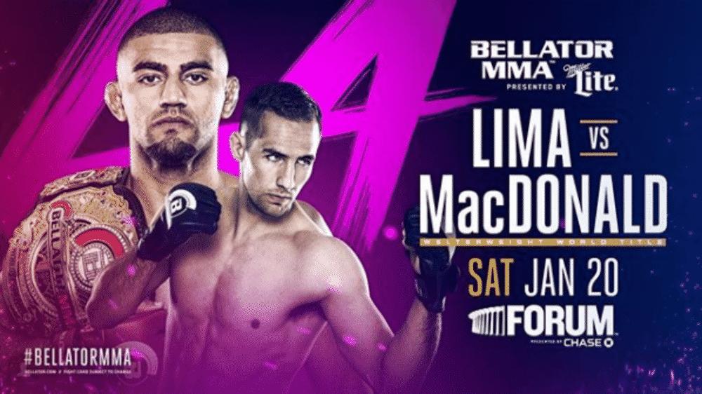 Bellator 192: MacDonald vs. Lima - Resultados 1